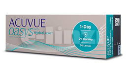 ACUVUE OASYS 1-DAY HYDRALUXE